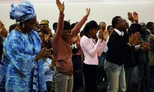 evangelical church service