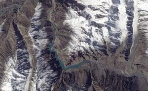 Satellite Eye on Earth: Landslide Lake in Northwest Pakistan