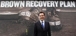 Election posters: George Osborne unveils the Conservaitves' green shoots poster