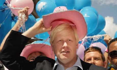 Gay Pride and Boris Johnson