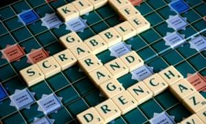 Scrabble.