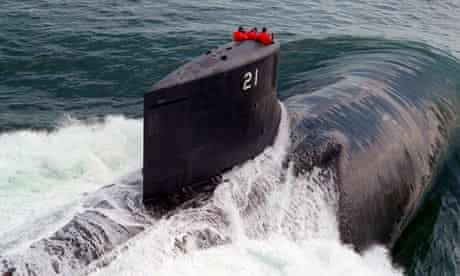 US Seawolf submarine