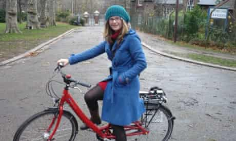 Helen Pidd on her Fahrrad bought through the Cycle to Work Scheme