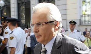 Baltasar Garzón, who indicted Augusto Pinochet, is accused of overstepping his authority