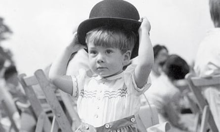 Boy with a bowler hat