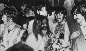 Beatles in Bangor for transcendental meditation course