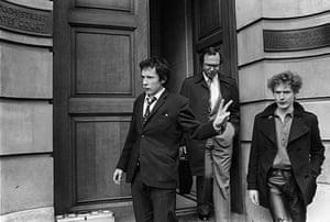 Malcolm McLaren: Malcolm McLaren with Johnny Rotten