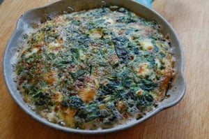 Blanche Vaughan's perfect spring frittata | Life and style ...