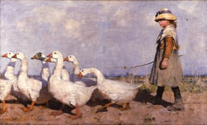 Exhibitionist: To Pastures New (1883) by James Guthrie