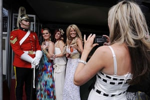 Grand National: Ladies Day at the Grand National in Aintree, Liverpool