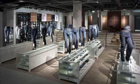 Levi's puts art in windows of flagship Regent Street store in London