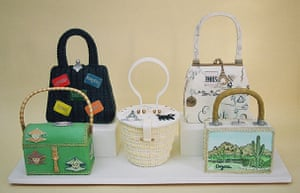 Food Sculptures: Rachel Mount Cake - 'Vintage Handbag Collection'