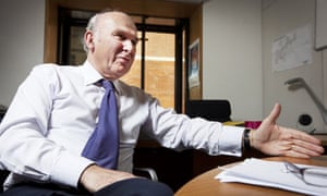 Vince Cable says Gordon Brown should 'hit back' at the businessmen