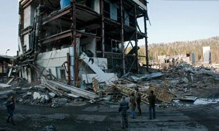 Russian mine explosion