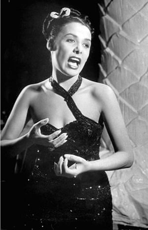 Lena Horne: 1947: Lena Horne at the Copacabana nightclub