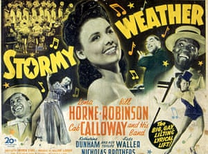Lena Horne: A poster for 'Stormy Weather'