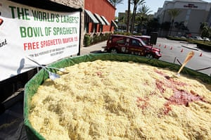 Big Food: 13,970 lbs of pasta