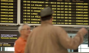 Tenerife North airport in Spain's Canary Islands was closed due to volcanic ash cloud