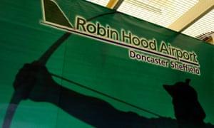 Robin Hood airport Twitter
