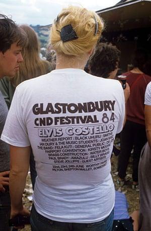 Glastonbury at 40: Glastonbury Festival, Britain - Jun 1984