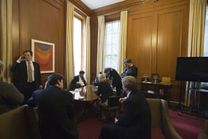 Behind the scenes: The final scenes in Gordon Brown's office