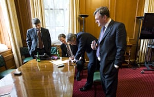 Behind the scenes: Gordon Brown writes letters to his successor