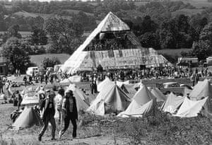 Glastonbury at 40: Glastonbury Festival : Pyramid stage