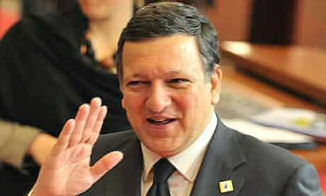 Jose Manuel Barroso, the European commission president