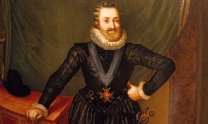 Painting of Henri IV, King of France