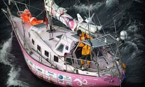 The Pink Lady, in which Australian schoolgirl Jessica Watson sailed around the world