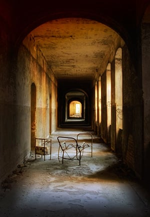 In pictures: derelict: abandoned sanatorium in Germany