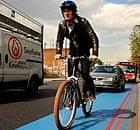 Adam Gabbatt on the cycle superhighway in south London