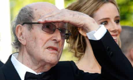 Portugal's Manoel De Oliveira - the world's oldest active movie maker - on the red carpet at Cannes