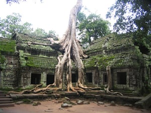 In pictures: derelict: old Cambodian temple