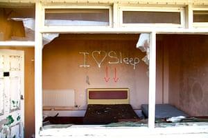 In pictures: derelict: derelict Pontin's in Jersey