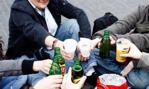 Binge drinking in Nantes