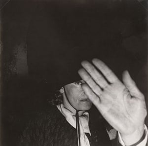 Exposed Tate Modern: Greta Garbo in the Club St. Germain, Paris, 1950 by Georges Dudognon