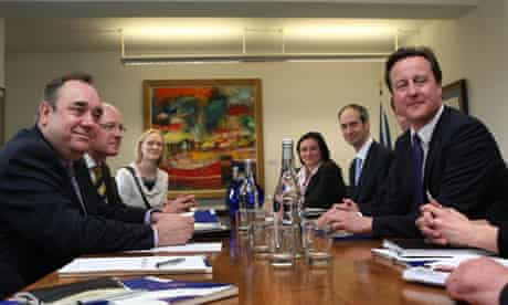 Cameron visits Scotland