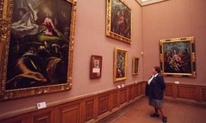 Museum of Fine Arts in Budapest, Hungary,