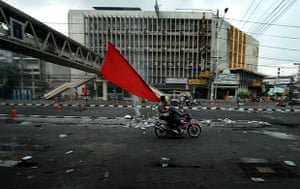 thailand clashes: Thai ''Red Shirt'' anti government prote