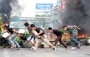 thailand clashes: Anti-government protest in bangkok