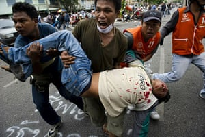 thailand clashes: Redshirts casualties