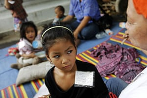 bangkok violence: Thai children of anti-government protesters
