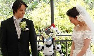 I-Fairy robot wedding