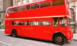 A double-decker bus - equal to roughly one third of the length of an Olympic-sized swimming pool.