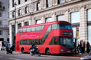 new london bus unveiled: The Red London Bus