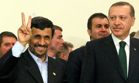 Mahmoud Ahmadinejad Recep Tayyip Erdogan