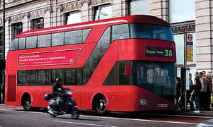 London's new Routemaster bus