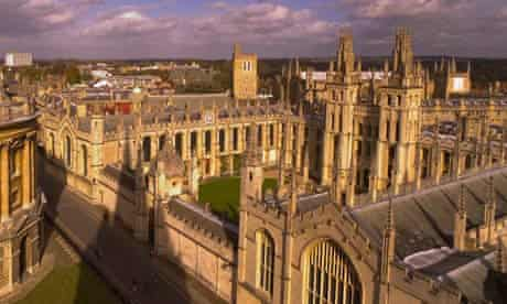 All Souls College in Oxford