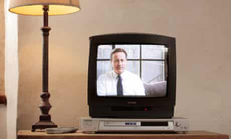David Cameron on TV